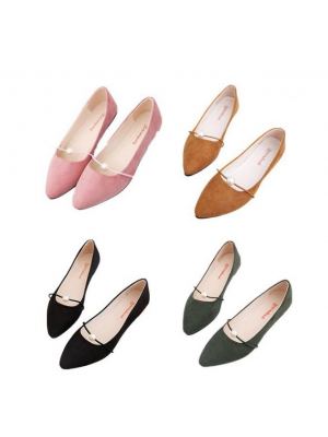 Casual  Women Lady  Low Heel Shoes Slipper Sandal (#617)