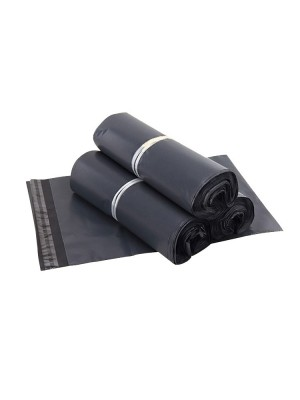 Size 28*42 cm -100pcs Packaging Plastic Bag Flyer(Grey)