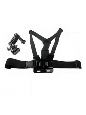 Chest Body Belt Strap Mount  FREE 3-way Base for GoPro Sjcam Yi  camera