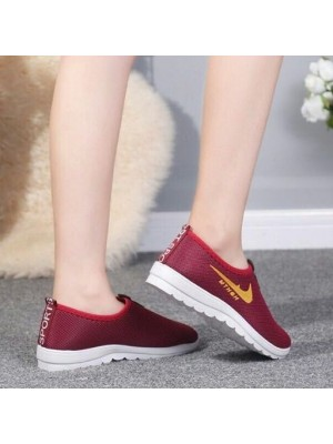Malaysia Ready Stock Fashion Womens Sport Breathable Sneakers Running Shoes