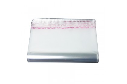 *SmartChoice*ReadyStock 30*50cm 100pcs Self Adhesive OPP Clear Plastic Packing Bag