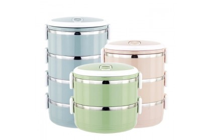 SHIP FAST*KL READY STOCK *Lunch Box - Large Capacity Food Storage Containers 2/3/4 Layer