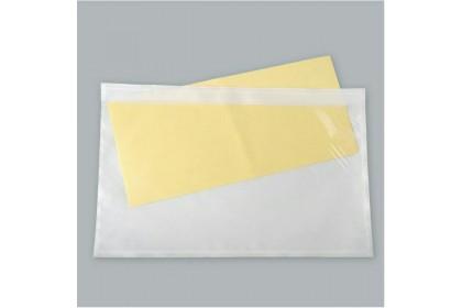 50/ 100PCS A5 Pocket Whole Glue Pos laju pocket /WHOLE GLUE Consignment note sticker pocket/Courier Address Pocket
