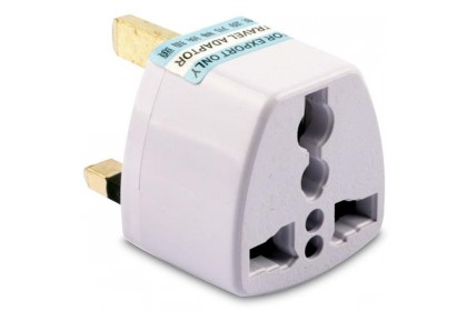 *SmartChoice*ReadyStock*Universal Travel Adapter US/EU To UK AC Plug [3 Pcs for RM10]